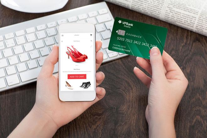 Mua hàng với thẻ tín dụng vpbank stepup