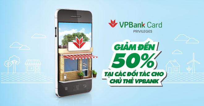 Thẻ tín dụng Vpbank Stepup nhiều ưu đãi