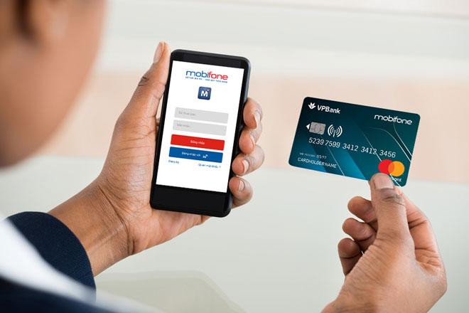 sử dụng thẻ tín dụng vpbank mobifone