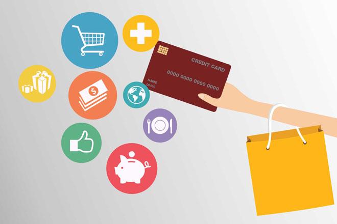 Mua sắm bằng thẻ tín dụng vpbank mobifone