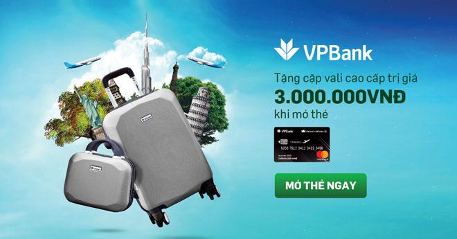 ưu đãi khi mở thẻ tín dụng VPBank